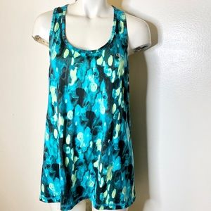 Champion Gear Blue Grn Athletic Active Tank Top XL